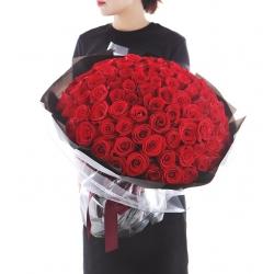 108枝玫瑰