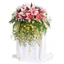 Podium flower