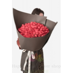 Korean giant 99 red rose...