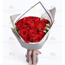 愛的諾言(19玫瑰)