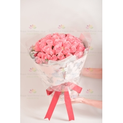三生三世的愛(33朵粉玫瑰)