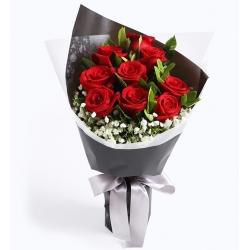 9枝玫瑰*簡約版