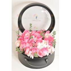 驚喜的完美禮物(送花花盒)*簡約版
