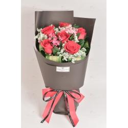 Promise forever (6 roses)