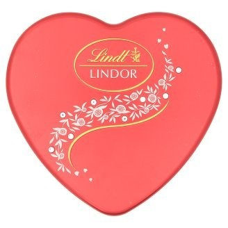 LINDT Lindor Crystal Heart Tin
