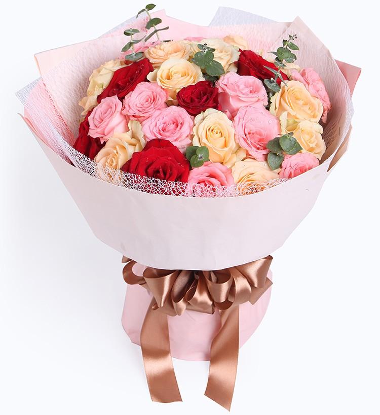 29枝玫瑰