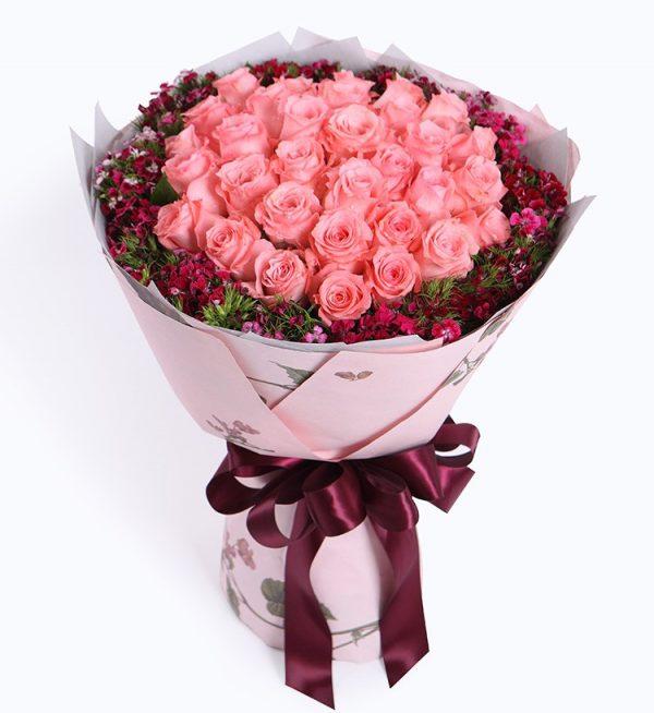33枝玫瑰
