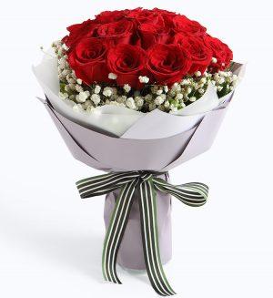 19枝玫瑰