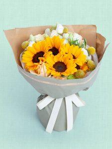 香港送花專門店是香港的網上花店, 我們的網上花店專營各式各樣向日葵花束訂花送花服務