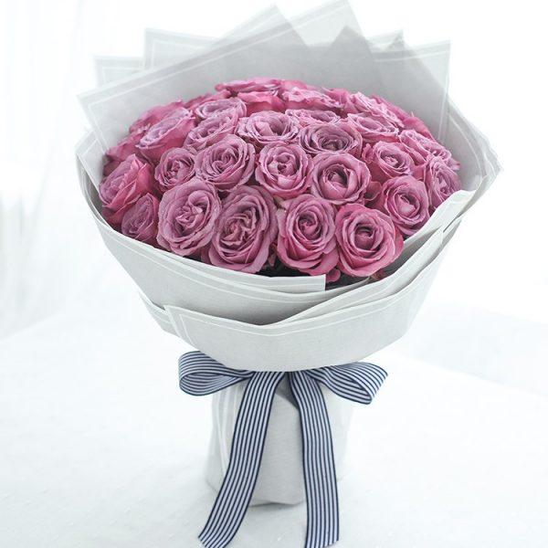 紫玫瑰33枝