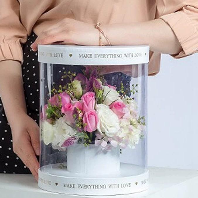 浪漫滿屋時尚花盒-九龍塘花店推薦