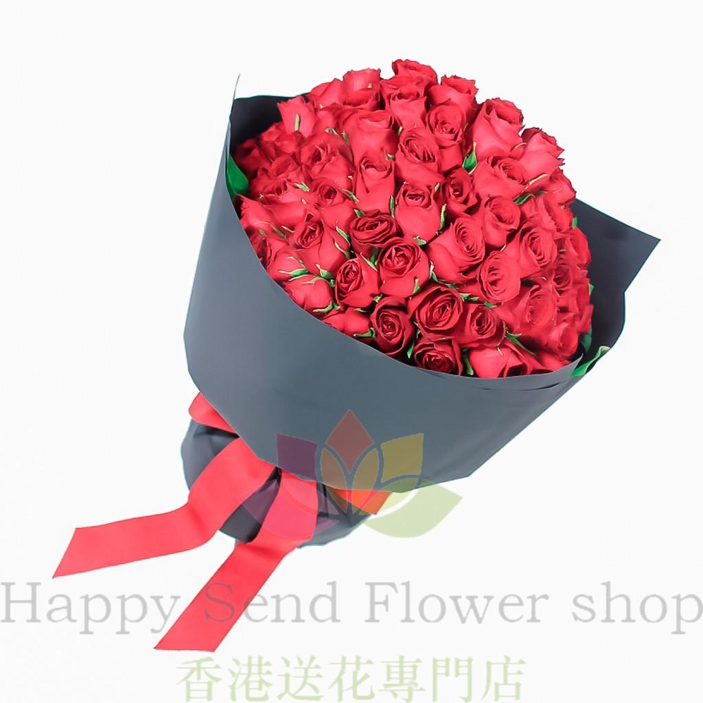 99枝玫瑰-九龍區免費送花