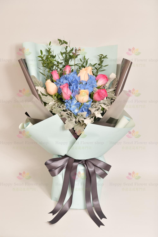 珍貴的回憶 - 繡球玫瑰
