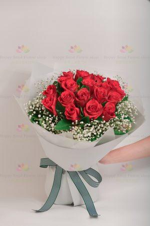 永遠愛你此情不渝(19枝玫瑰)