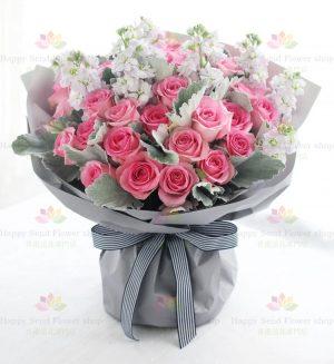 玫瑰33枝