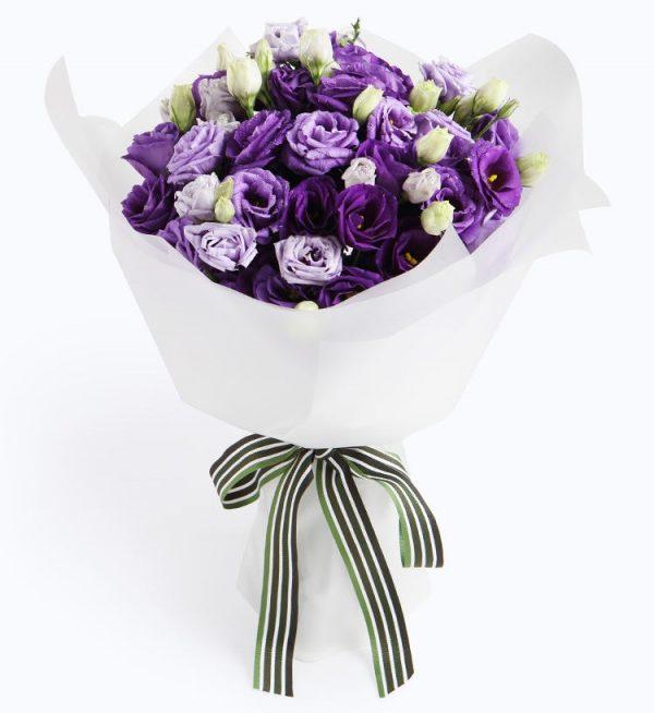 不變的愛只給妳(紫色桔梗)